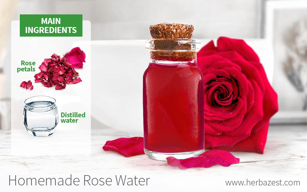 Homemade Rose Water
