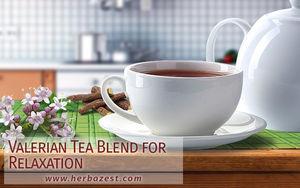 Valerian Tea Blend for Relaxation