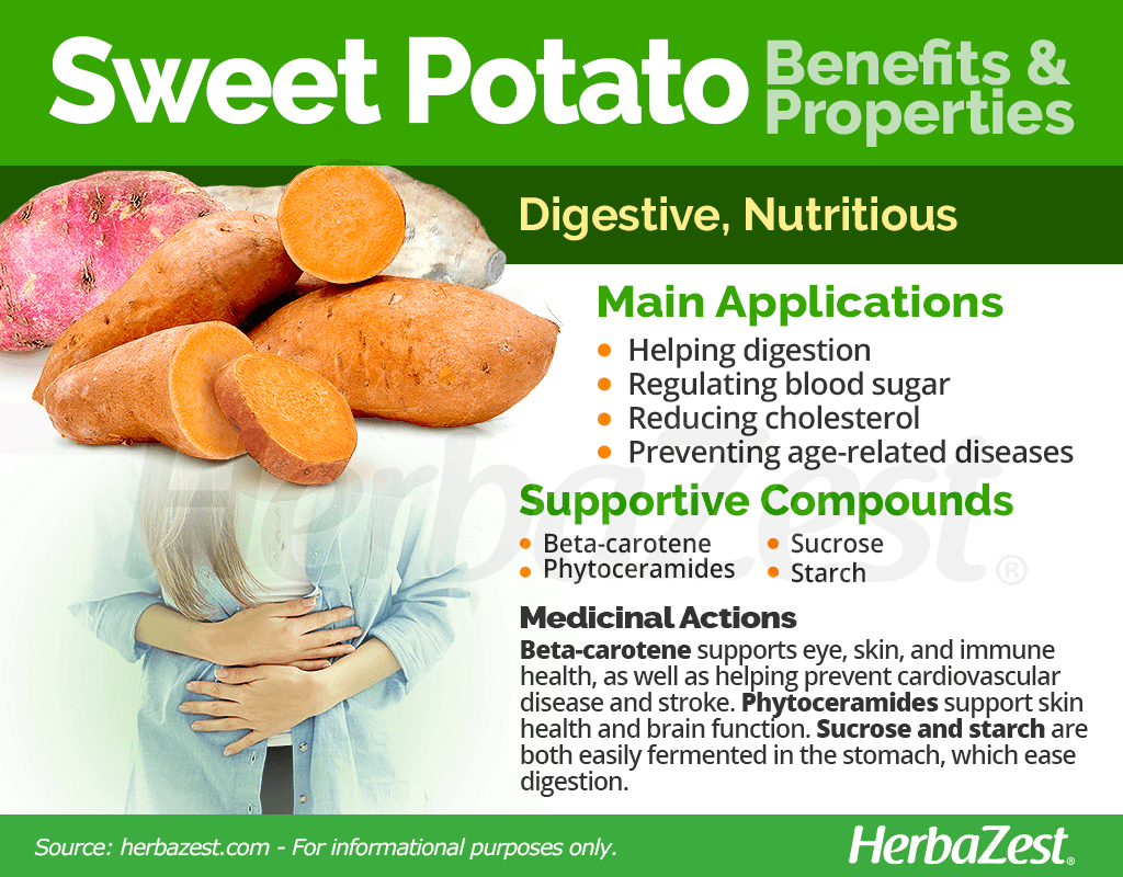 Sweet Potato Benefits and Properties
