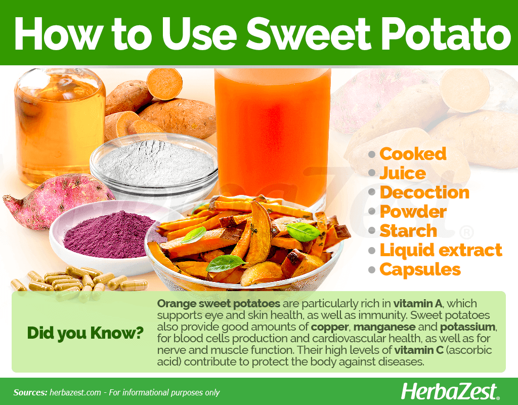 How to Use Sweet Potato