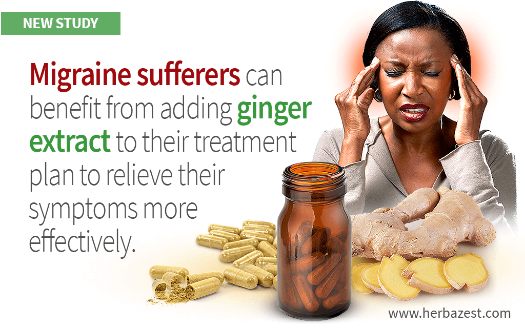 People with Migraines Can Safely Reduce Their Symptoms with Ginger