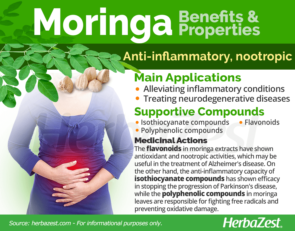 Moringa Benefits and Properties