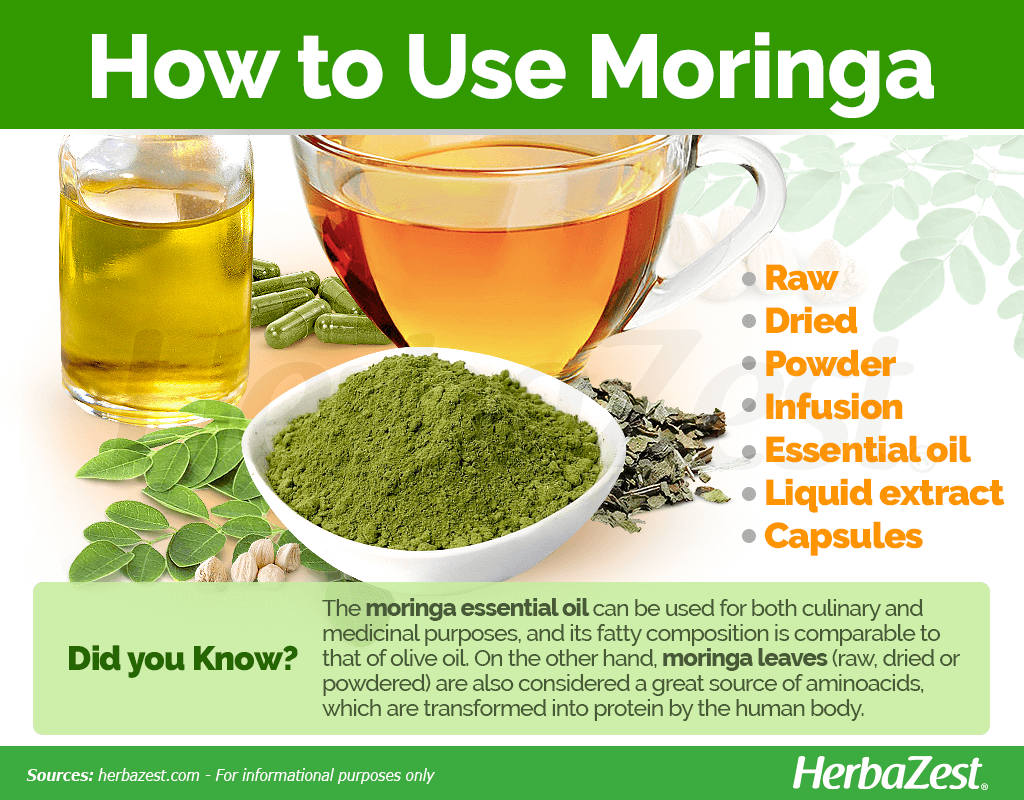How to Use Moringa