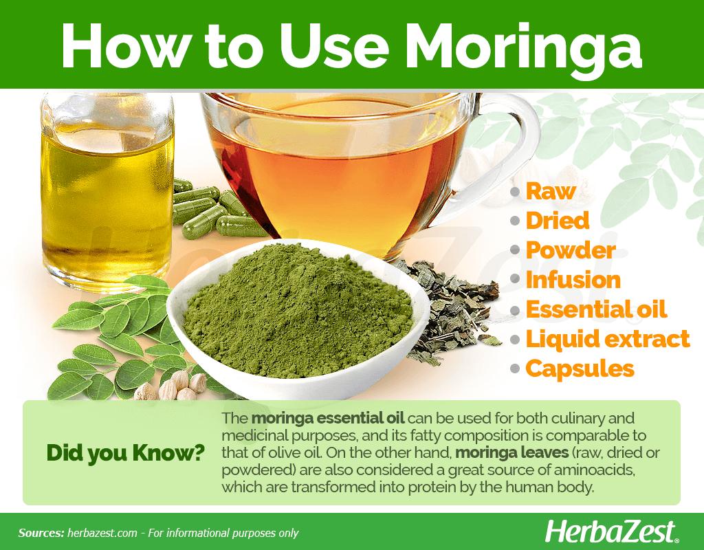 How to Use Moringa