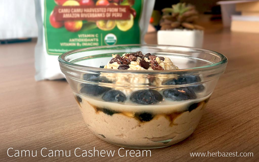 Camu Camu Lime Cashew Cream