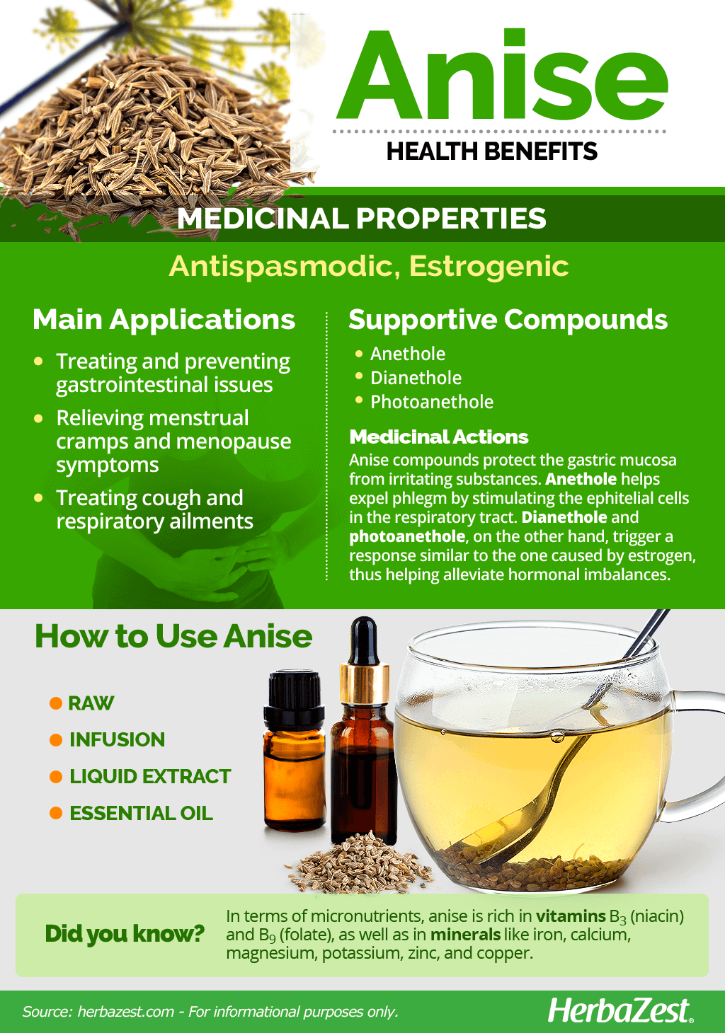 Anise Benefits