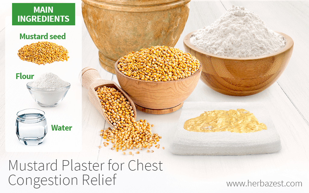 Mustard Plaster for Chest Congestion Relief