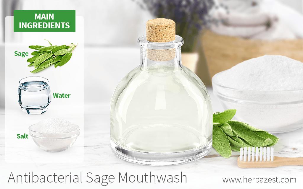 Antibacterial Sage Mouthwash