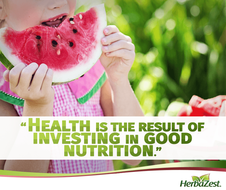Quote: Health Is the Result of Investing in Good Nutrition