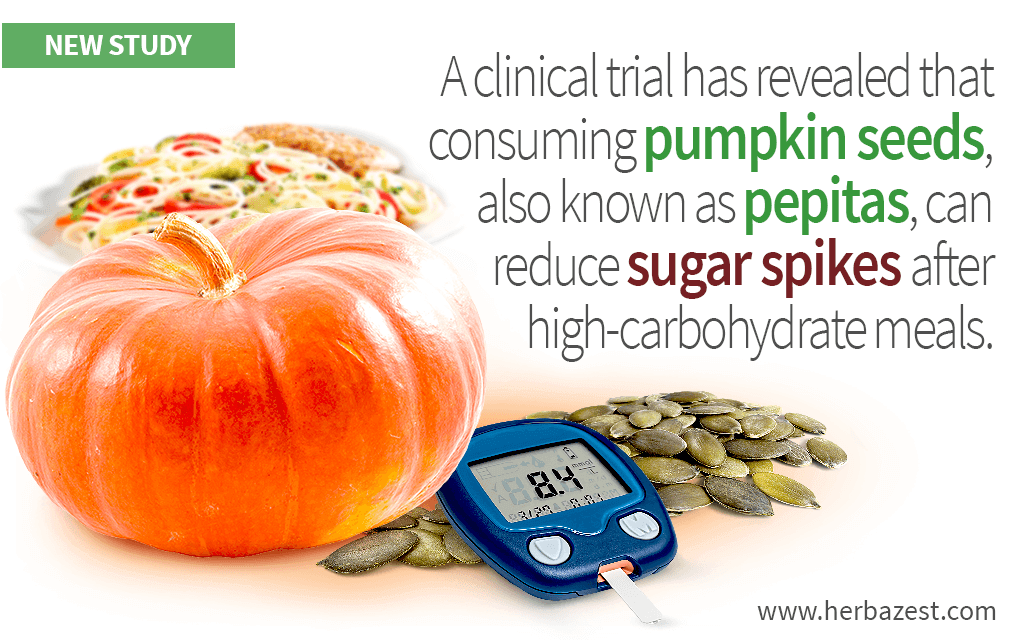 Pumpkin Seeds Shown to Prevent Sugar Spikes After Meals