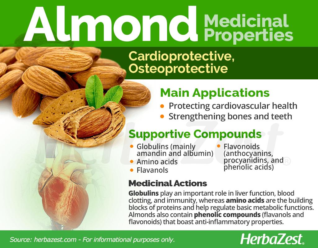 Almond Medicinal Properties