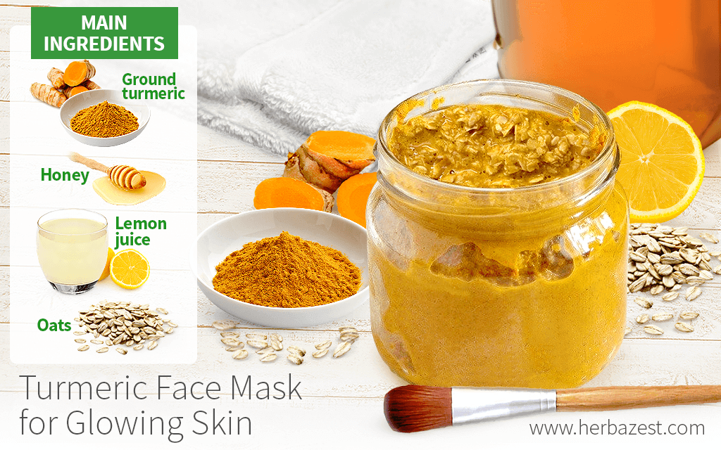 Turmeric Face Mask for Glowing Skin