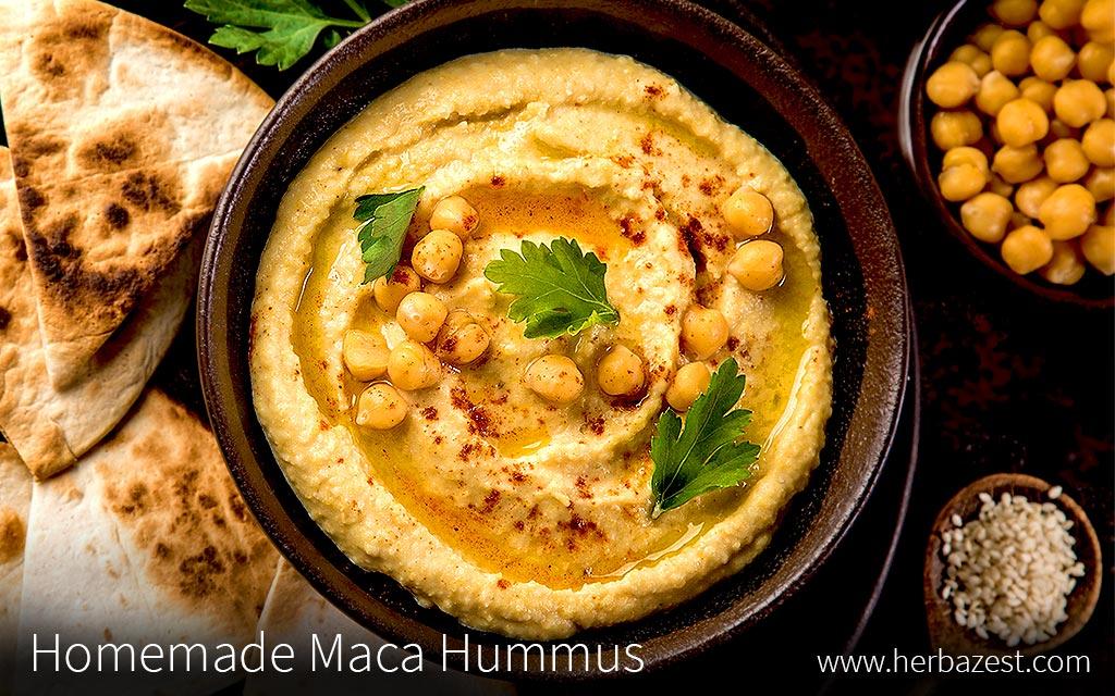Homemade Maca Hummus