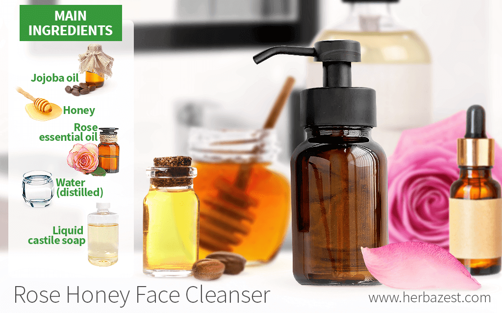 Rose Honey Face Cleanser