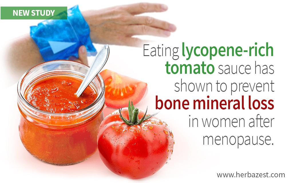 Tomatoes May Prevent Bone Loss in Postmenopausal Women