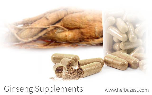 Ginseng Supplements