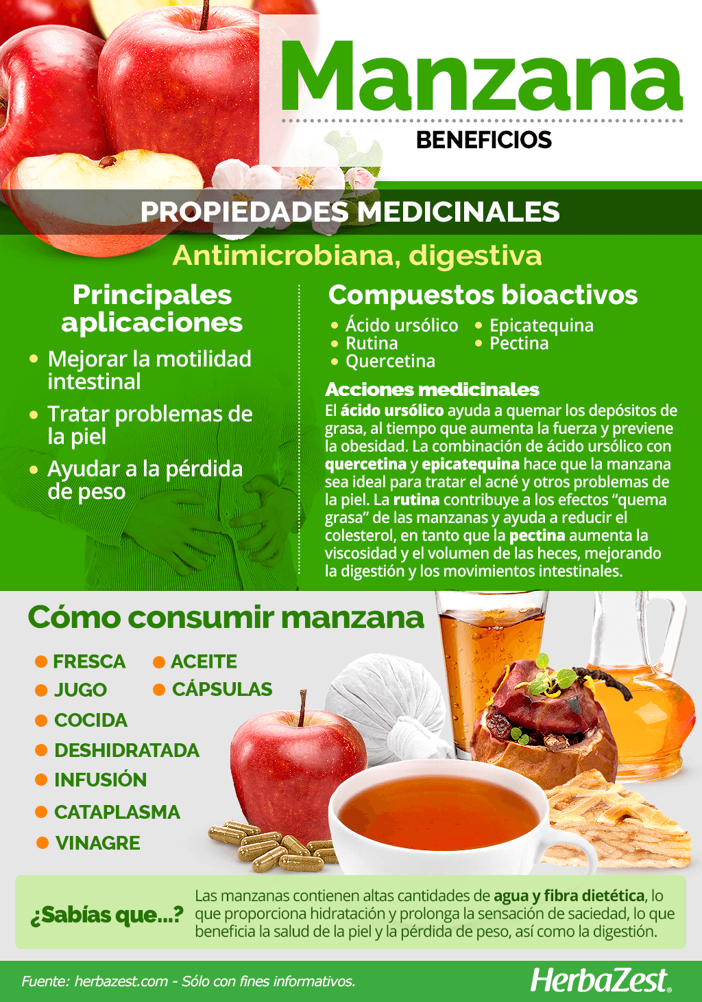 Beneficios de la manzana