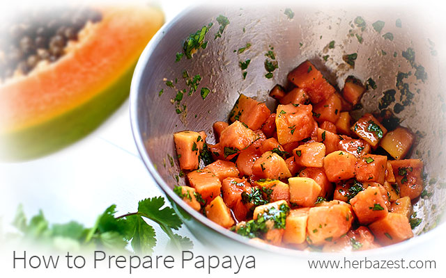 How to Prepare Papaya