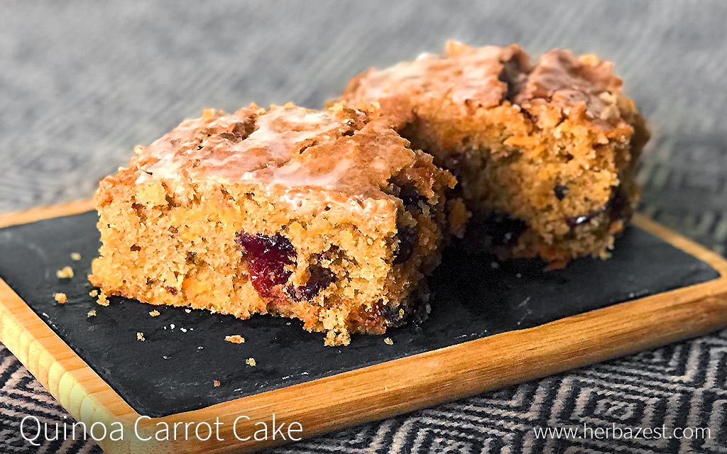 Quinoa Carrot Bread