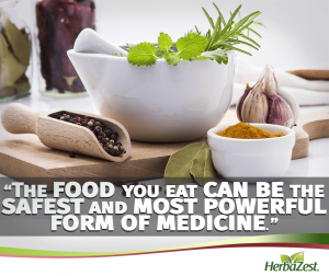 Quote: Let Food Be Your Antidote