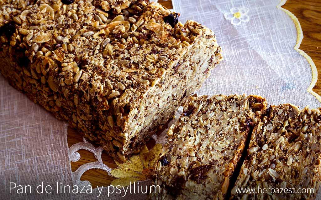Pan de linaza y psyllium