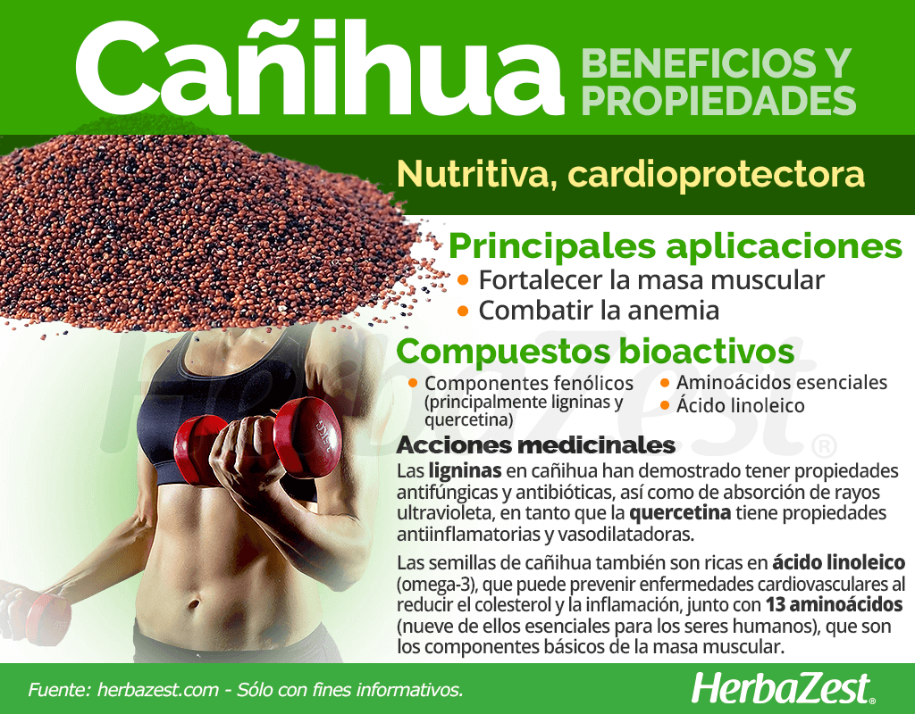 Beneficios y propiedades de la cañihua