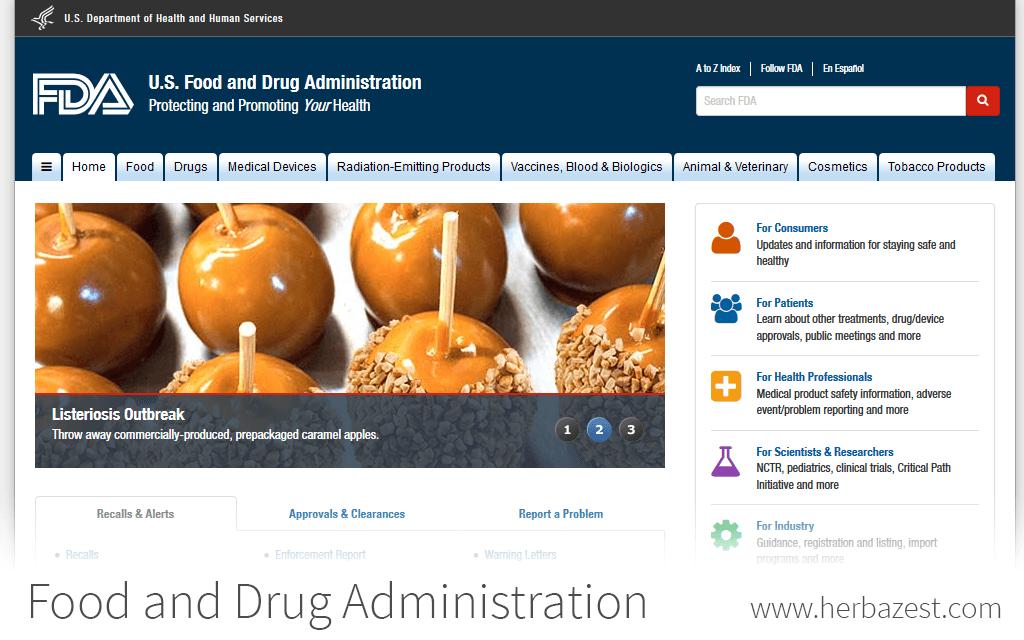 Food and Drug Administration | HerbaZest