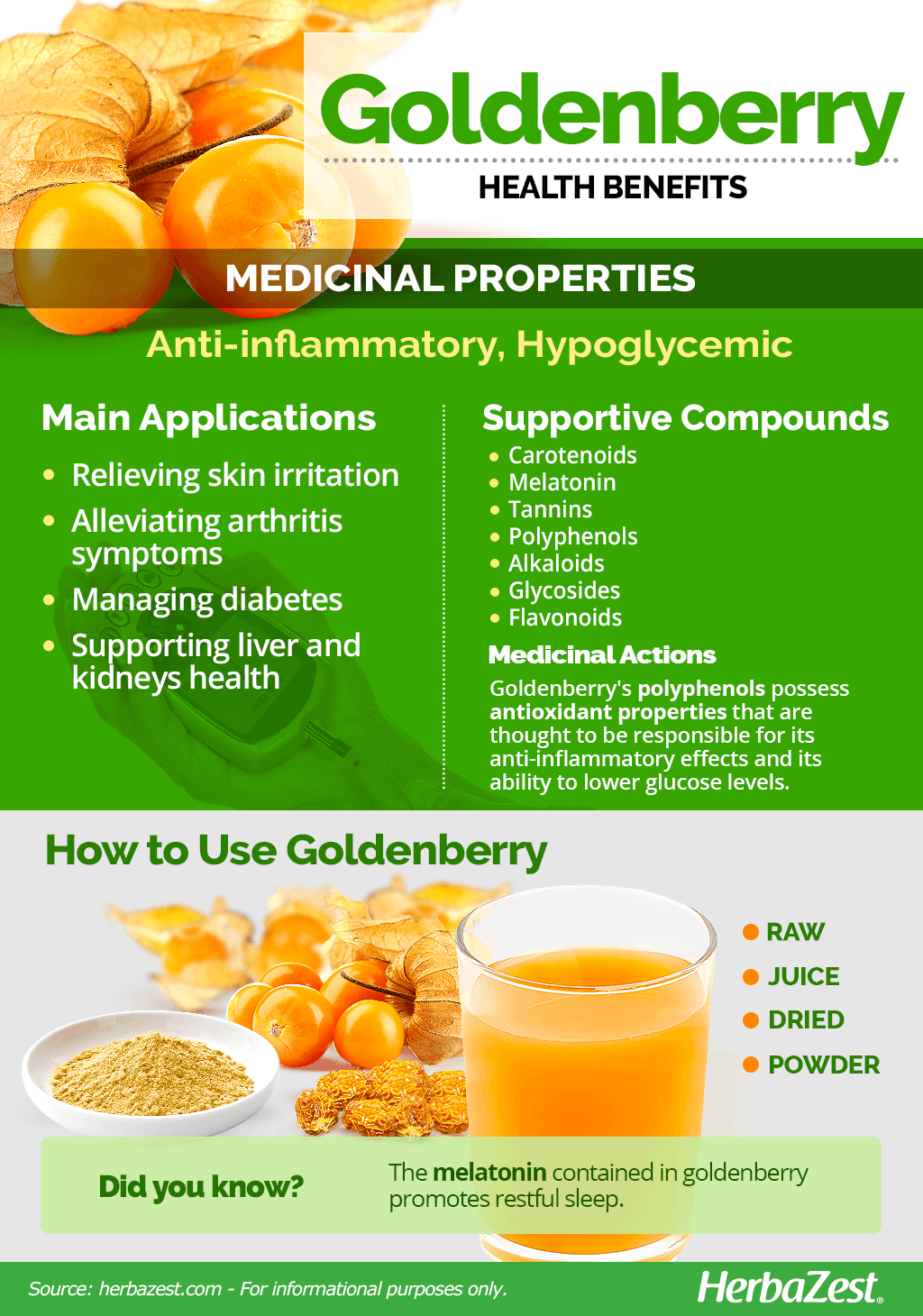 All About Goldenberry