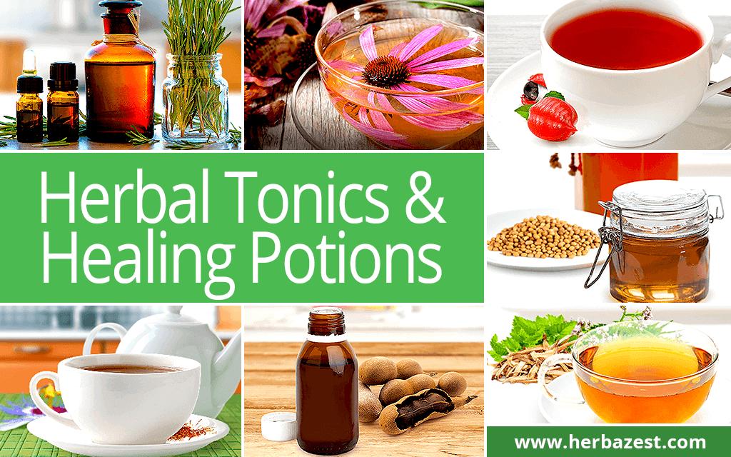 Herbal Tonics & Healing Potions