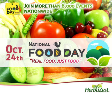 Special Date: National Food Day