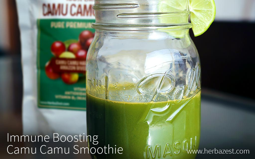 Immune Boosting Camu Camu Smoothie