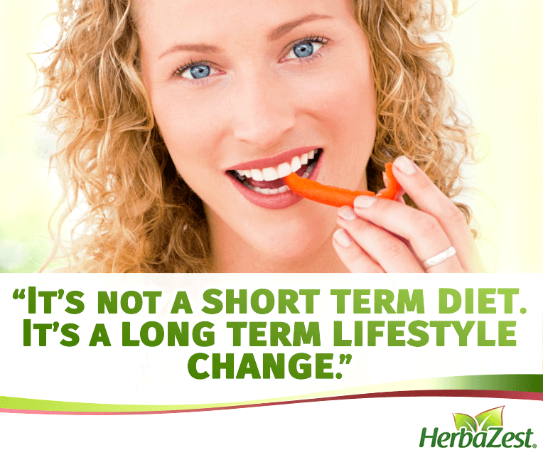 Quote: It is a Long Term Lifestyle Change