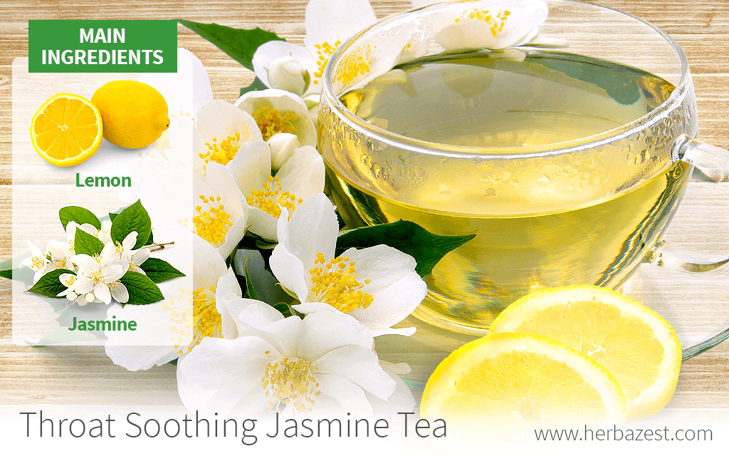Throat Soothing Jasmine Tea