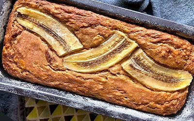 Sacha Inchi Banana Bread