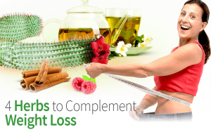 4 Herbs to Complement Weight Loss