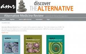 Alternative Medicine Review