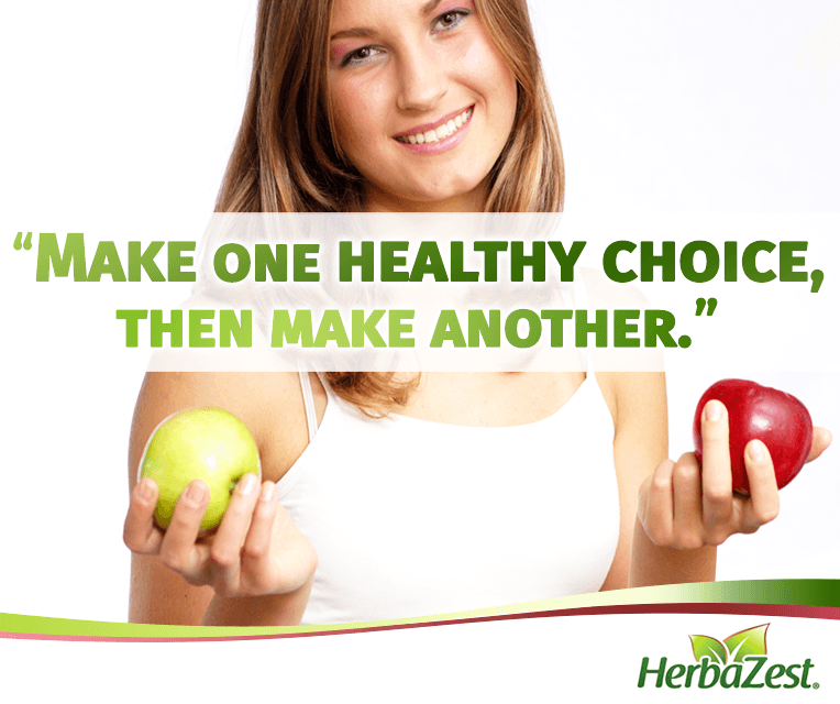 Quote: Be Healthy by Choosing the Right Food