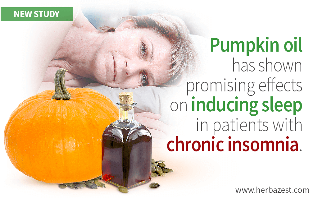 Pumpkin Oil Has Shown Effective for Inducing Sleep in Chronic Insomniacs