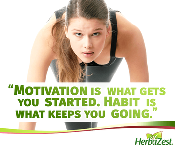 Quote: Motivation is What Gets You Started