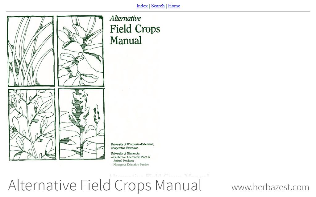 Alternative Field Crops Manual