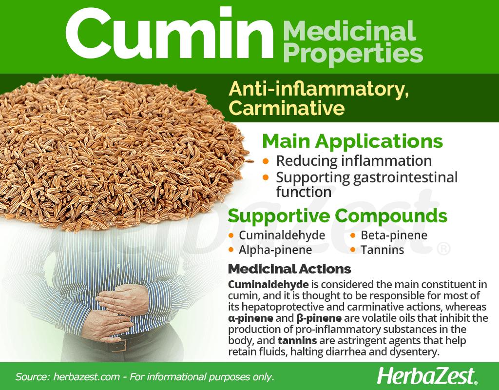 Cumin Medicinal Properties