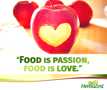 Quote: Food is Love