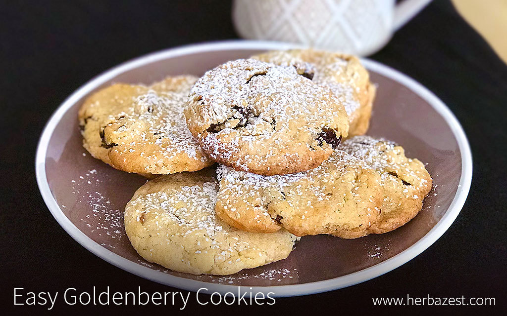 Easy Goldenberry Cookies