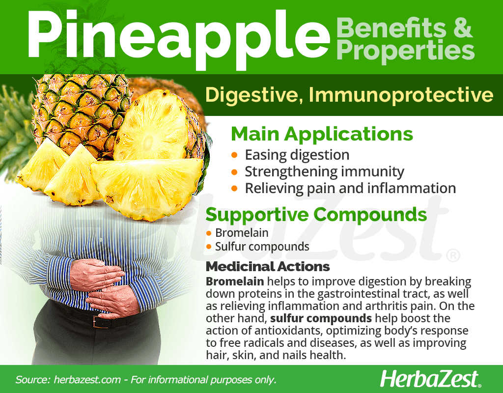 Pineapple Benefits and Properties