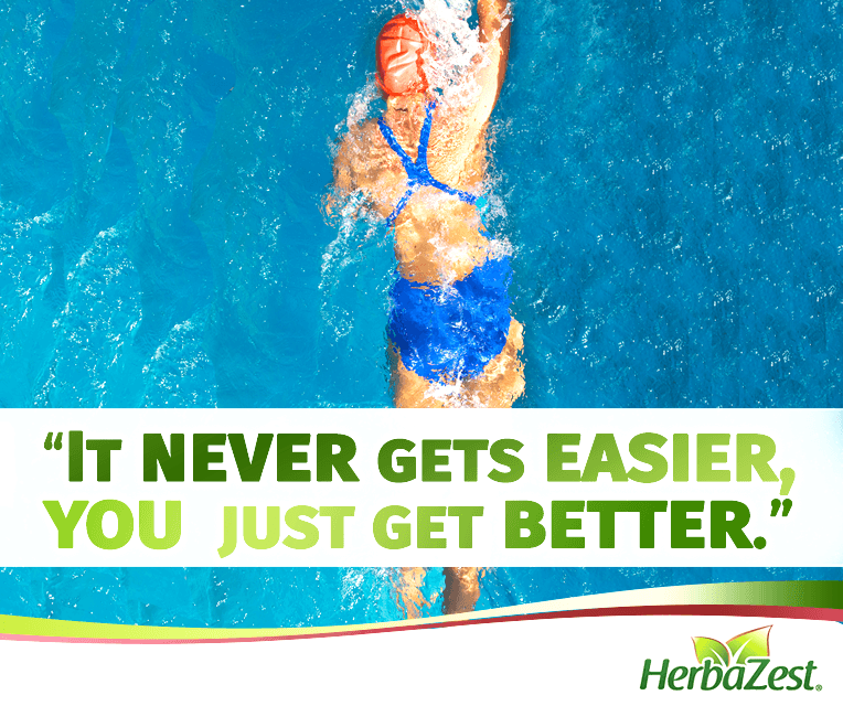 Quote: It's Never Easy, You Just Get Better