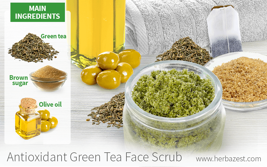 Antioxidant Green Tea Face Scrub