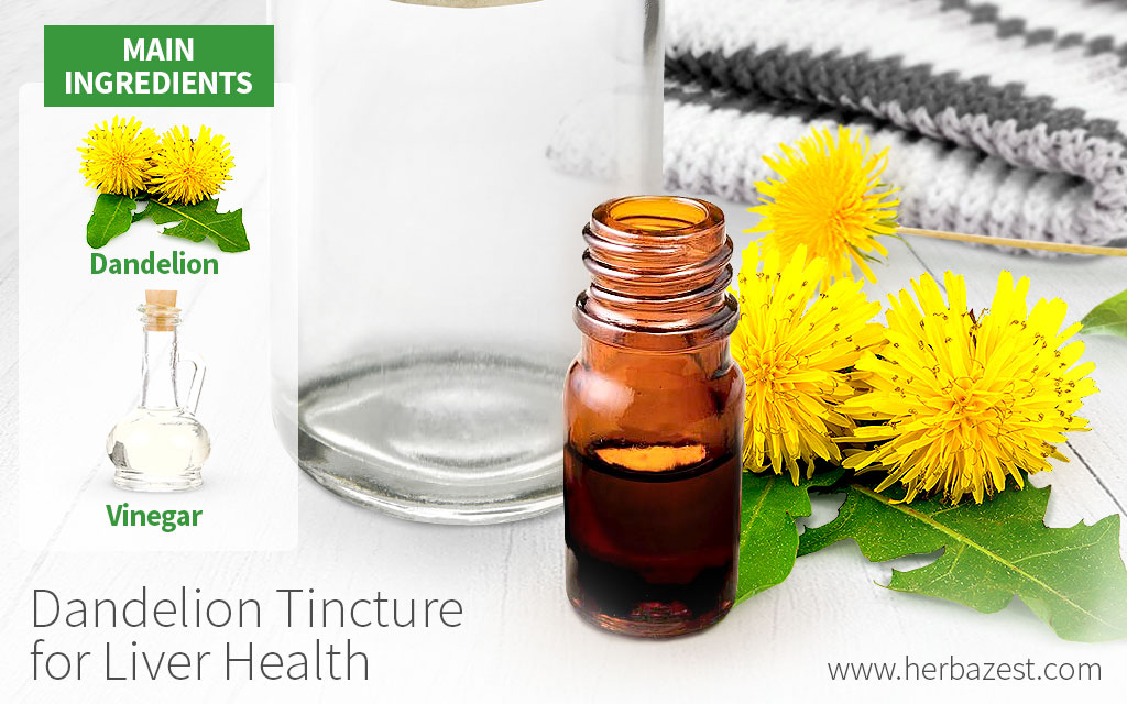Dandelion Tincture for Liver Health