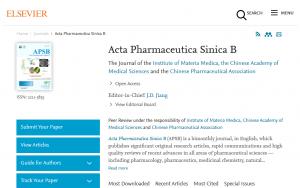 Acta Pharmaceutica Sinica