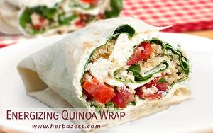 Energizing Quinoa Wrap