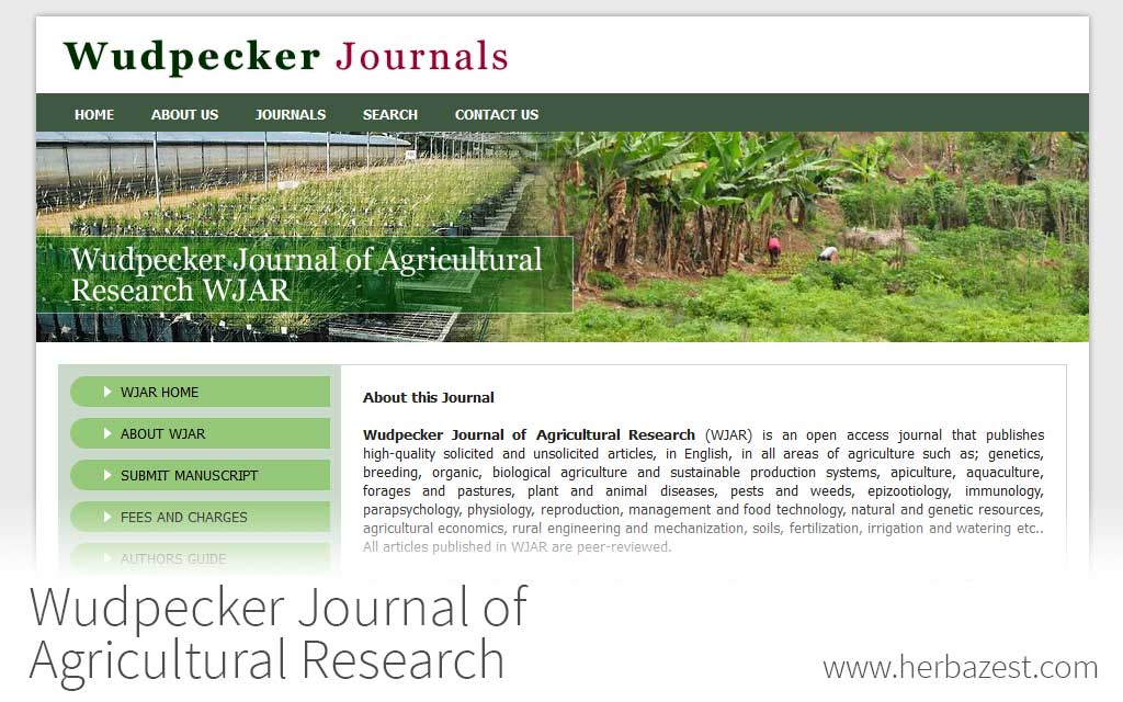 Wudpecker Journal of Agricultural Research